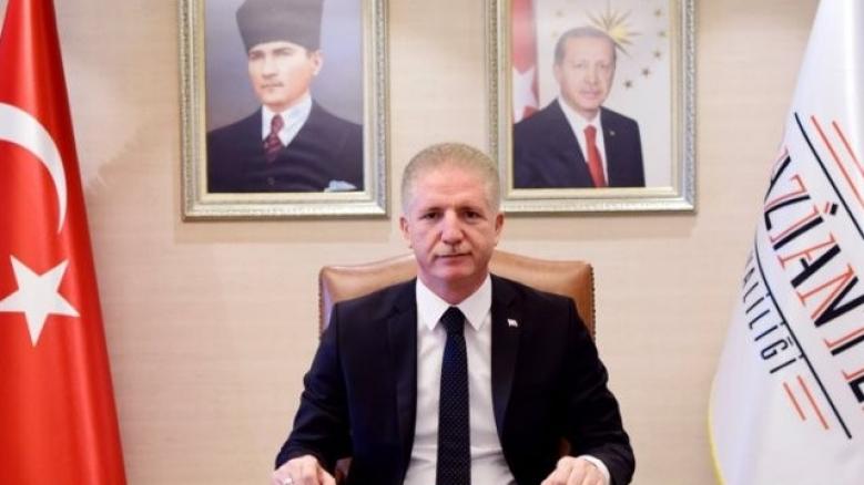 Gaziantep Valisi Gül, yeni yılı kutladı...
