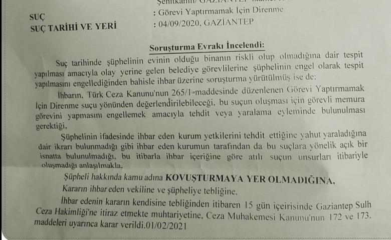 VATANDAŞIN EVİNİ YIKIYORSUNUZ, BARİ BUNU YAPMAYIN!..