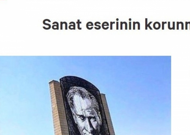 GAÜN'DEKİ ATATÜRK ANITI'NIN DEĞİŞTİRİLMEK İSTENMESİNE TEPKİ VAR...