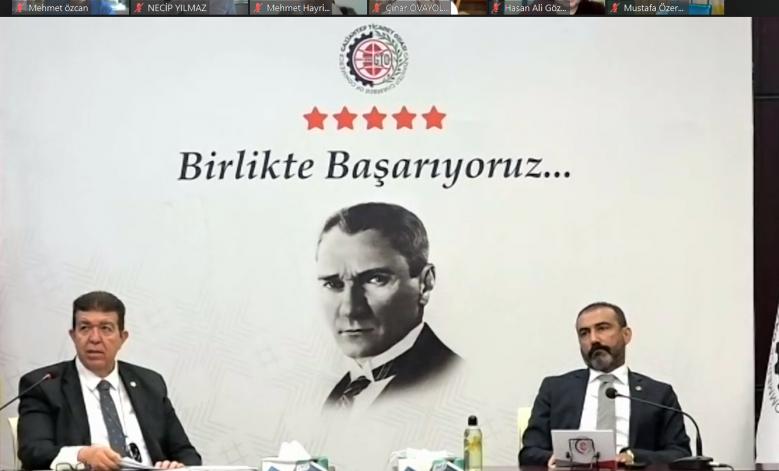 GTO MECLİSİ'NİN GÜNDEMİ TAM KAPANMA OLDU
