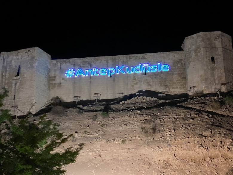 #Gaziantep, Kudüs ile...