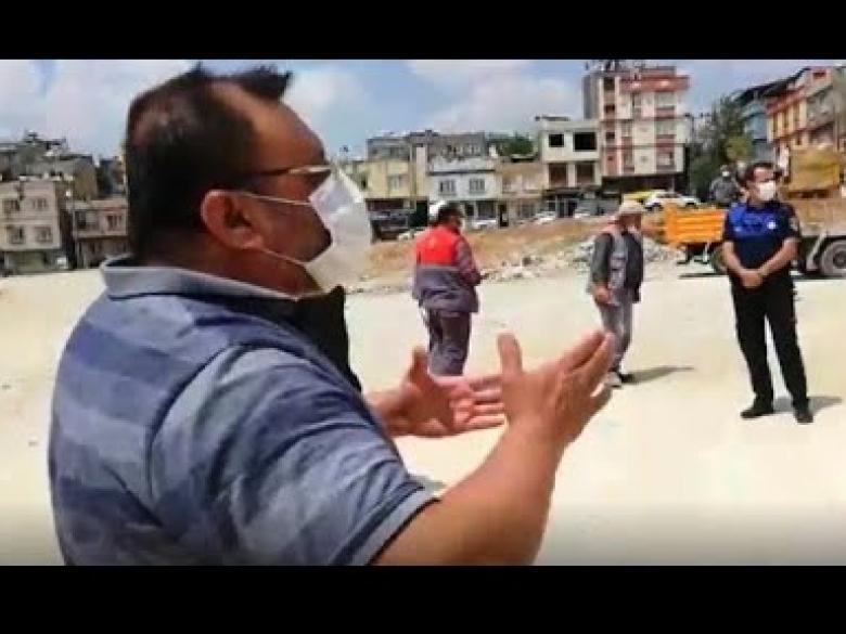 """""""GÖNÜL DEĞİL, ZULÜM BELEDİYECİLİĞİ YAPIYORSUNUZ"""""""